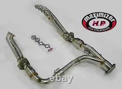 Maximizer Long Tube CATTED Header Fits 07-13 Chevy GM 1500 Trucks 6.2L LS3 L92