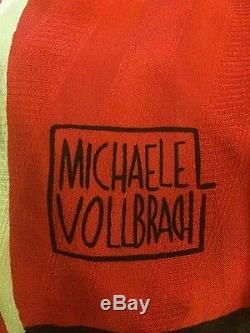 Michaele Vollbracht VTG 80s Sombrero Man Silk Maxi Skirt 10 fits Medium M