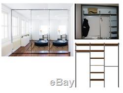 Mirrored 3 Door Sliding Fitted Wardrobe