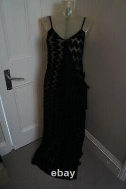 Missoni Black evening dress sz IT 38 Will Fit UK 8-10