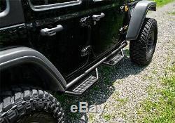 N-Fab 507416412 Full Length Nerf Step RS Bar Fits 07-18 Wrangler (JK)
