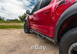 N-Fab EXJ072-TX Full Length EPYX Step System Fits Wrangler (JK) Wrangler (JL)