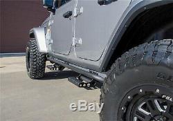 N-Fab J194TRKRS4 RKR Full Length Step System Fits 20 Gladiator