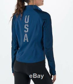 NEW Women Nike Flex Team USA Running Jacket Size XS S M 807373 Authentic Olympic