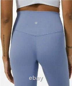 NWT Lululemon Align Pant Size 4 Water Drop Nulu 28