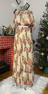 NWT Needle & Thread Silk Pleated Skirt and jacket Size US 6 Fits Like 4