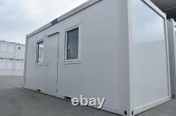 New 20' x 8' Office Unit -Portable Building fitted with full length windows