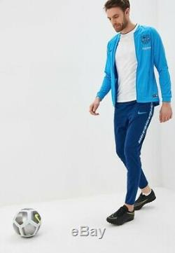 Nike Barcelona Dri-FIT Football Tracksuit XXL Equator Vivid Coastal Blue