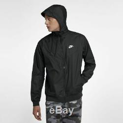 Nike Sportswear Men's Windrunner Jacket Black Size M 727324-010
