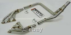 OBX Racing S/S Full Length Header fits 07-11 Jeep Wrangler (JK/JKU) 3.8L V6