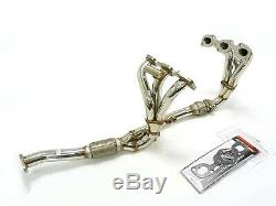 OBX Stainless Full Length Header Manifold Fits 1995-01 Nissan Maxima 3.0L V6