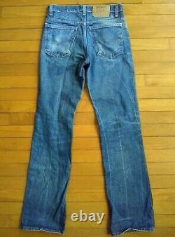 Old Levis 517 Grunge Jeans Orange Tab Actual fits 29 x 31.5 Worn