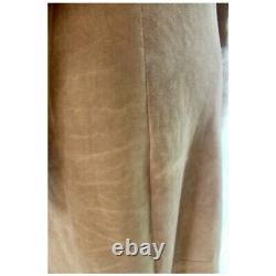 Original Shearling Made in Italy Full Length Coat Fits US 6 8