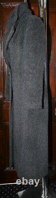 Planet Coat Alpaca Wool Slate Grey MIDI Length Fitted Uk 12 Euro 38 Preowned