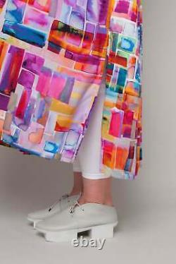 RALSTON Multicolour Geometric Print Selma Dress Loose-fit S-M-L Season SS21