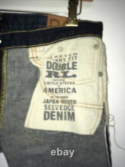 RRL JEANS DOUBLE RL Women size 29 Rockford Wash Skinny fit jeans legging japan w