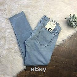 Rag and Bone Women's Jeans The Dre Boyfriend Fit Skinny Destroyed 27 NEW