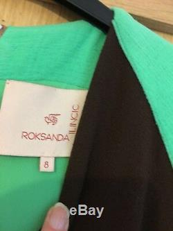Roksanda Catwalk Maxi Fit & Flare Dress size 8