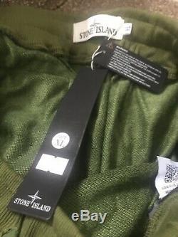 STONE ISLAND Green XL Size Fits 34 -36 Inch Waist