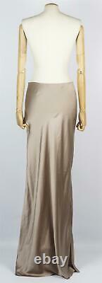 Sablyn Valentina Silk Satin Maxi Skirt Medium