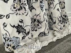 Self Portrait Clarissa White Printed Maxi Dress 6 fits UK size 8 approx