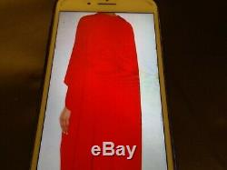 Stella Mccartney Elaise Red Gown Orange Fits Sizes 6-8-10 New With Tags Rrp2100