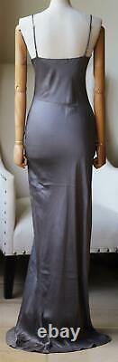 Theperfext Sarah Silk Satin Maxi Dress Petite