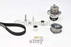Timing Belt + Pulley Water Pump KIT CONTITECH Fits AUDI VW SEAT 2L V8 L4 L6 L5