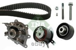Timing Belt & Water Pump Kit fits PEUGEOT 508 Mk1 2.2D 10 to 18 4HL(DW12C) Set