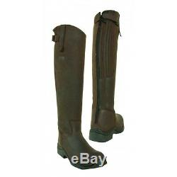 Toggi Calgary Long Full Length Riding Boot Cheeco Brown Standard Fit