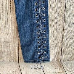 True Religion Raven Lace up skinny fit RARE DEAD STOCK True Religion Jeans Sz 24