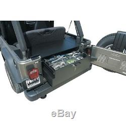 Tuffy Products Rear Security Cargo Drawer fits 2004-2006 Jeep Wrangler LJ 131-01