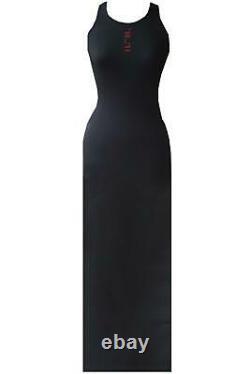 Unravel Project Ben Taverniti Stretch Jersey Maxi Dress Small