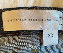 VICTORIA BECKHAM Women's Slim Fit Skinny Jeans Mid Rise NEW