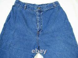 Vintage Levi's Denim Mom Jeans Womens Fit Sz 27x30 SaddleMan High Wst Unique