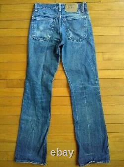 Vintage Levis 517 Grunge Jeans Orange Tab Actual fits 29 x 31.5 Faded USA