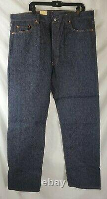 Vintage Made in USA Levis 501 Shrink To Fit Jeans 42x36 Straight New with Tags