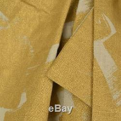 Vivienne Westwood Gold Rhea Cross Linen Loose Fit Maxi Skirt Size RRP £490