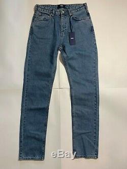WOOD WOOD WW denim stonewash Lea slim fit high rise jeans w 28 l 32