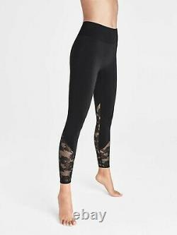 Wolford Perfect Fit Lace Leggings (14813) Black/Black