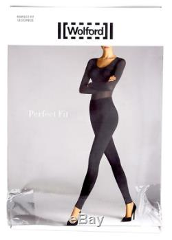 Wolford Perfect Fit Women's Black Leggings Size Medium 10912