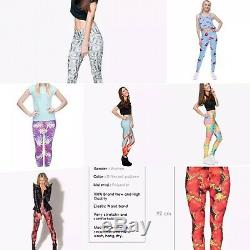 Womens Yoga Pants Fitness Leggings Running Gym Workout. Brand New. Joblot 176 Pcs